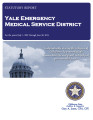 YALE EMERGENCY MEDICAL SERVICE DISTRICT STATUTORY REPORT FOR THE PERIOD JULY 1, 2007 THROUGH JUNE...