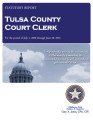 SALLY HOWE SMITH, COURT CLERK TULSA COUNTY, OKLAHOMA STATUTORY REPORT FOR THE PERIOD OF JULY 1,...