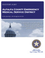 ALFALFA COUNTY EMERGENCY MEDICAL SERVICE DISTRICT STATUTORY REPORT FOR THE PERIOD JULY 1, 2012...