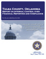 TULSA COUNTY, OKLAHOMA INDEPENDENT AUDITOR'S REPORT ON INTERNAL CONTROL OVER FINANCIAL REPORTING...