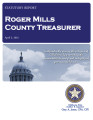 BAB COKER, COUNTY TREASURER ROGER MILLS COUNTY, OKLAHOMA TREASURER STATUTORY REPORT APRIL 3, 2015
