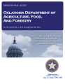 Oklahama Department of Agriculture, Food, and Forestry Operational Audit for the Period Ending...