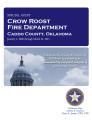 Crow Roost Fire Deptartment Caddo County, Oklahoma special audit report.