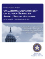 Audit report of the Oklahoma Department of Human Services - agency special accounts.