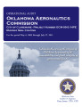 Audit report of the Oklahoma Aeronautics Commission city of Claremore - project number...