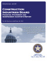 Construction Industries Board Financial Statement and Independent Auditor's Report For the Fiscal...