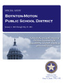 Boynton-Moton public school district special audit report.