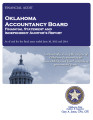 Oklahoma Accountancy Board Financial Statements and Independent Auditor's Reports As of and for...