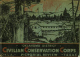 Civilian Conservation Corps, Oklahoma District, pictorial review : Oklahoma - Texas