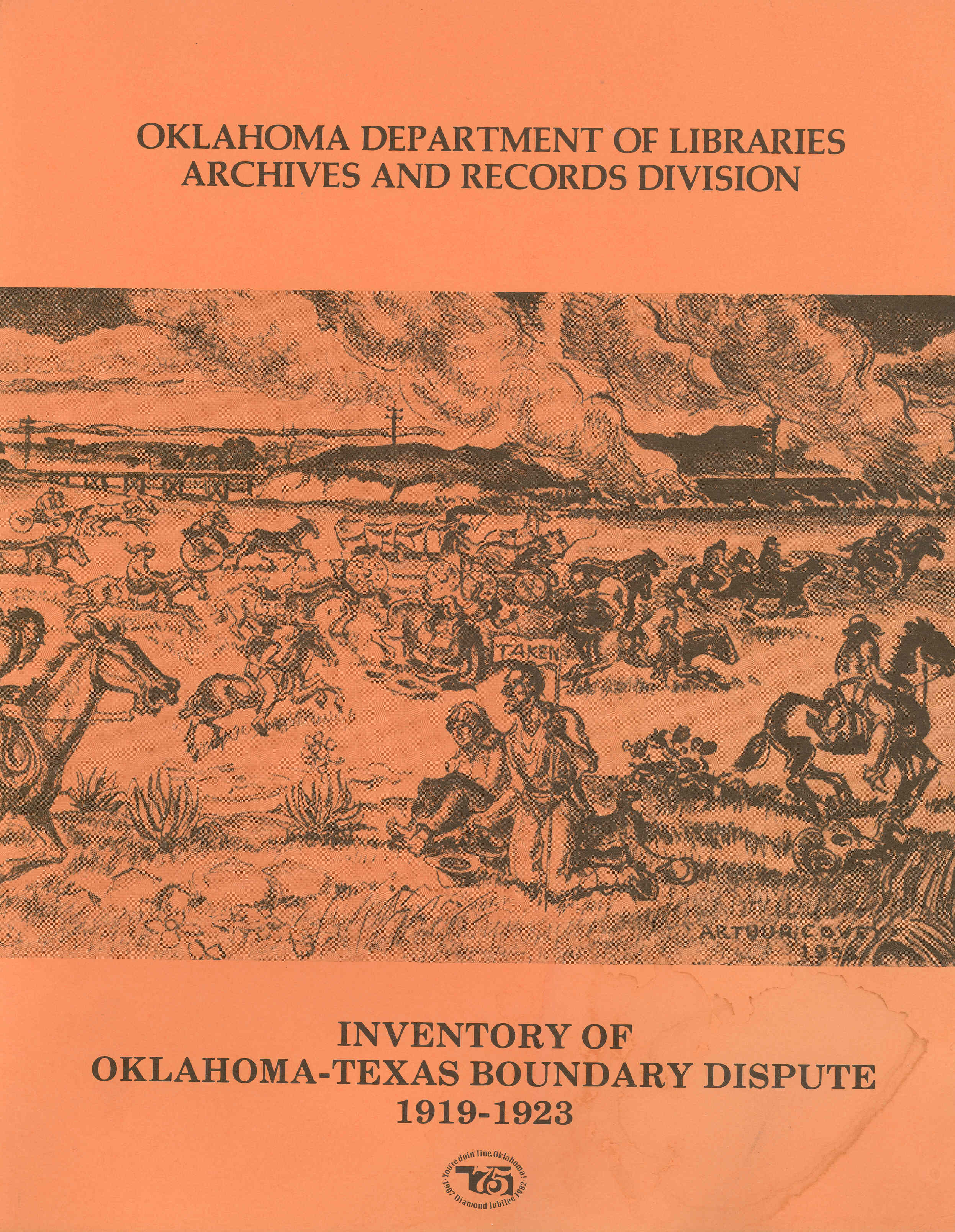 Oklahoma Texas Boundary Dispute Finding Aid