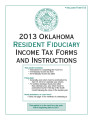 2013 Resident Fiduciary Income Tax Forms and Instructions