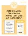 2010 Oklahoma Corporation Income Tax Forms and Instructions