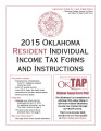2015 Oklahoma Resident Individual Income Tax Forms and Instructions