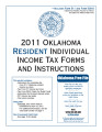 2011 Oklahoma Resident Individual Income Tax Forms
