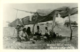 Indian Camp Scene, Pawhuska, Okla.