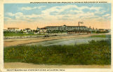 Oklahoma State Penitentiary From South Showing Residence of Warden, Deputy Warden and other...