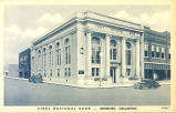 FIRST NATIONAL BANK -- ARDMORE, OKLAHOMA