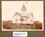 First Baptist Church, Muldrow, Indian Territory, 1900s