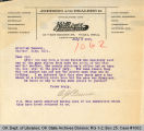 Letter A. J. Perrine to Attorney...