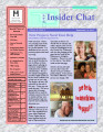 Insider Chat Newsletter Volume II...