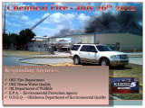 Bachman Chemical Fire - July 26th...