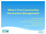 What is Post-Construction SW...