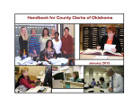 Handbook for County Clerks of...