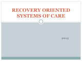 6E Recovery Oriented Systems of...