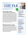 TLE_March_2014_Newsletter 1