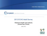 2013 SoonerCare Choice Adult ECHO...