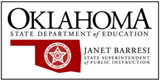 Oklahoma 3rd grade reading scores by district level, 05/12/2014