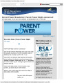 Parent Power Newsletter  582014 1